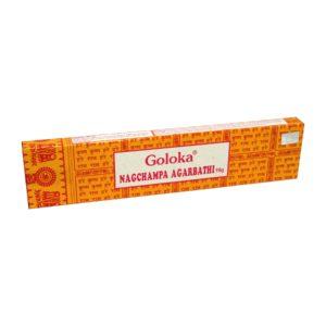 Goloka - Nagchampa Agarbathi - Räucherstäbchen 16gr.